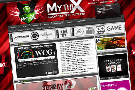 Site de l'association mythiX eSport